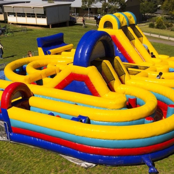 Adrenalin Rush Inflatable Ride for Hire - Amusement Rides Sydney