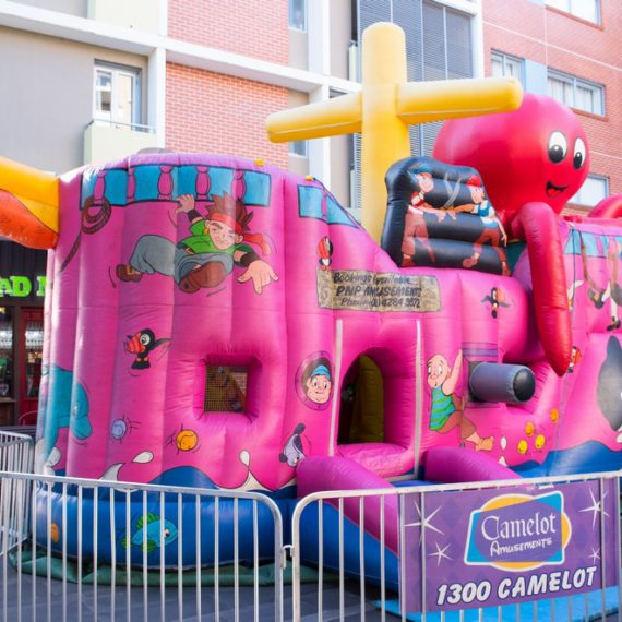 Captain Cooks Endeavour Inflatable Ride for Hire - Carnival Rides Sydney