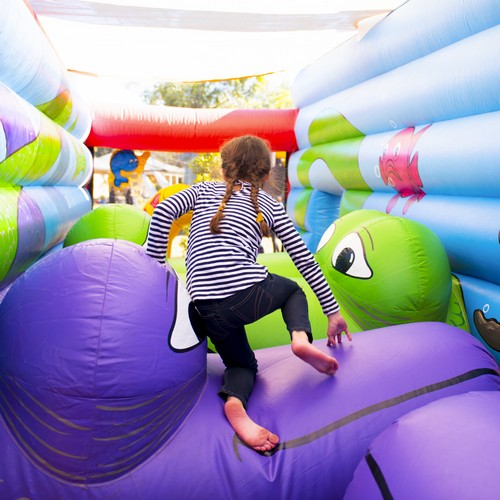 Circus Under the Sea Inflatable Ride for Hire -Carnival Rides Sydney