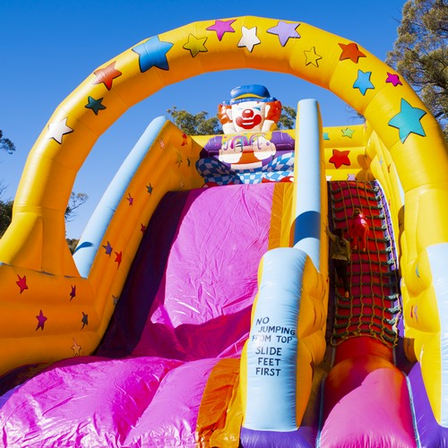 Giant Slide Inflatable Rides for hire - Carnival Rides Sydney