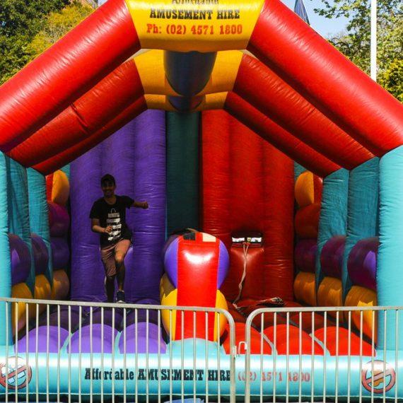 Horizontal Bungee Amusement Ride for Hire - Amusement Rides Sydney