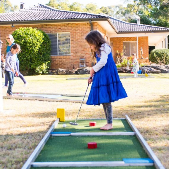 Mini Putt Putt Golf Amusement Ride for Hire - Carnival Rides Sydney
