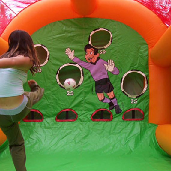 Soccer Shoot Out Amusement Ride for Hire - Amusement Rides Sydney
