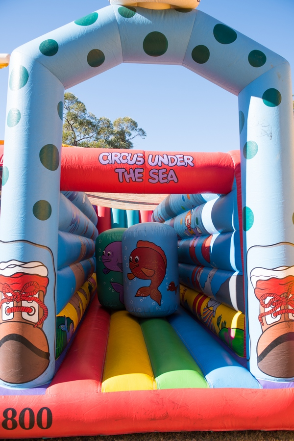Circus Under the Sea Inflatable Ride for Hire Sydney - Fundraising Events