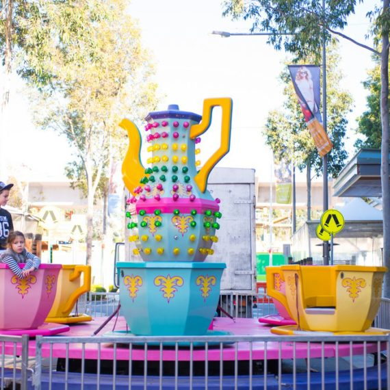Cup & Saucer Ride for Hire - Amusement Rides Hire
