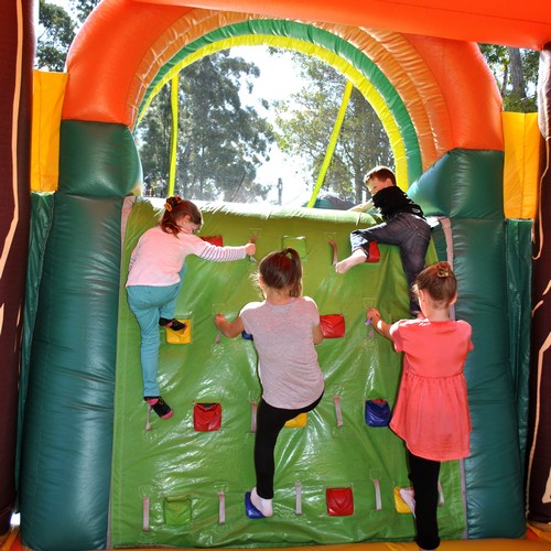 Jungle Run Inflatable Ride for hire Sydney - Carnival Rides Sydney
